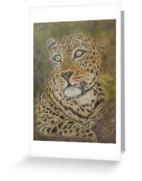 Leopard Note Cards