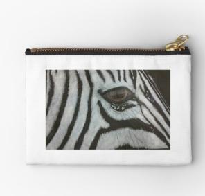 Zebra Studio Pouch