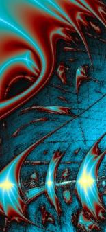 Fractal-Blue Swirlr